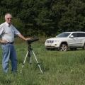 На съемке Jeep  Grand Cherokee